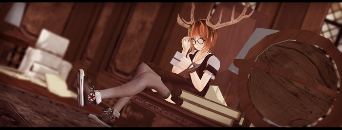 In library by CrissaLiss