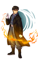 FMA - Coronel Roy Mustang by MayhWolf