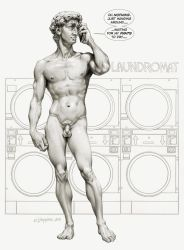 Michelangelo's David by Loopydave