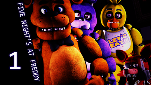 Five night's at Freddy's 1 by rhydonYT
