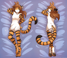 Flora's Body Pillow by Twokinds