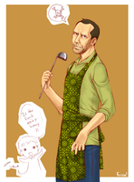 Deadly cooking papa House by Dreamsraven