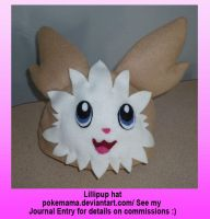 Lillipup hat by PokeMama