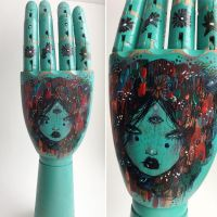 Yoya wooden hand by lalalandofclouds