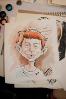 Alfred E. Neuman by Noumier