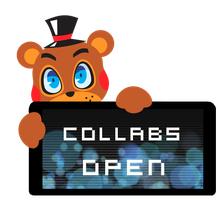 Toy Freddy Collabs Open Stamp by InkCartoon