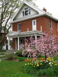 Stock Backgrounds - Victorian House in Spring by Winged-Thoughts