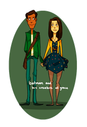 The Couple with Knobby Knees by Shusihi