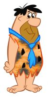 HB Color Page Fred Flintstone by slappy427