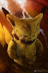 Pikachu by ourlak