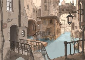 Welcome to Venise by FaustindeRavignan
