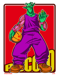 Dragon B-Ball (ver.2) Piccolo by kevinbolk
