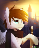 commission castle by RedchetGreen
