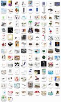 e3paper ComiPo Stuff Pack - DL by AKIO-NOIR