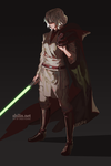 Jedi Veloce - piece for patreon by shilin