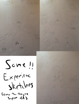 experience sketch cluster by netflixandsapphire