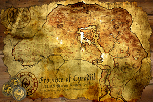 Province of Cyrodiil - Map of Marcus Vultori 3E121 by AndrewScrolls