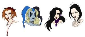 Villianesses of Void by Lily-pily