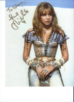 Actress Olivia D'Abo's autograph by wemayberry