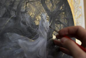 L'Antichambre - Work in progress 1... Wistman's Wo by Yoann-Lossel