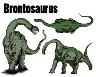Brontosaurus Concepts by Heist-pyt