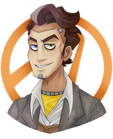 Handsome Jack by hideousArtist