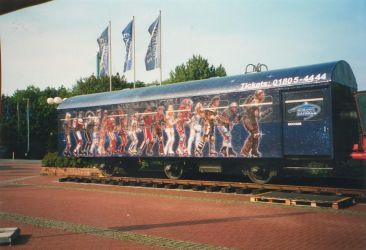 Starlight Express Train by Alita-Tenshi