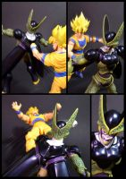 Cell vs Goku Part 1 - p9 by SUnicron