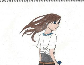 Past Memories: Nora+wind Colored by smallfry4000
