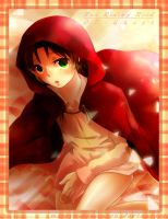 07-Ghost - Red Ridding Hood by mirror-bluemoon
