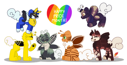 [Gift] Happy (Late) Pride Month! by PhoenixFromTheFire