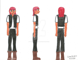 Ever After High OC: Sean Oceanus by GoldenNocturna