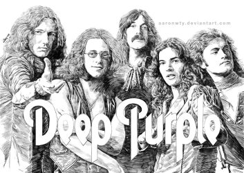 Deep Purple 50th anniversary tribute 2 by aaronwty