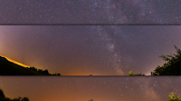 Milkyway panorama by GSonic95