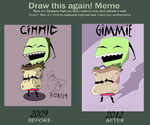 Draw this again meme GIMMIE by dumblikeamose