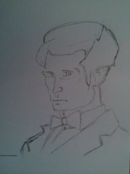 1th Doctor  Sketch 1 by DatorVitae
