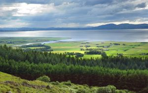 Lough Foyle from Binevenagh by younghappy