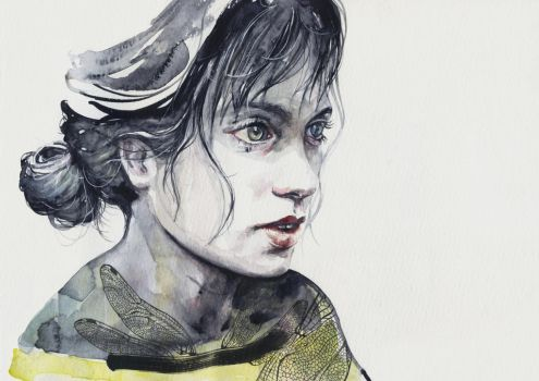 Dragonfly by agnes-cecile