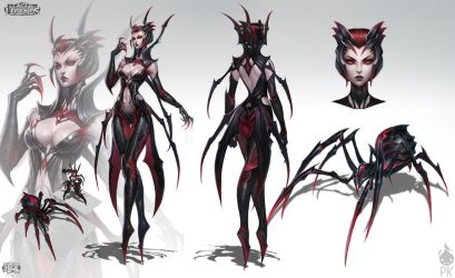 Elise The Spider Queen by Zeronis