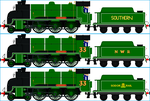 Merlin the Southern Express Engine by Galaxy-Afro