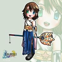 Chibi Yuna - FFX by Gui-mps