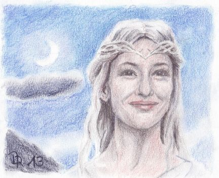 Galadriel by LoonaLucy