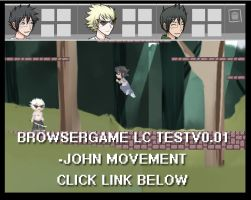 Browsergame Lost Chums Test v0.01 - John movement by ChibiEdo