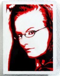 Psai - Black and Red Airbrush by Dinoforce