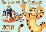 2010 - Year Of The Tigger by OgawaBurukku