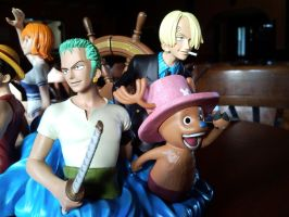 One Piece Bookends Zolo Part by l3xxybaby