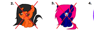 MLP Filly Adopts #2 ~ 10 Points Each ~ *OPEN* by Adopting-Angels