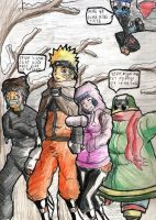 NaruHina: Winter mission by mrJINKS