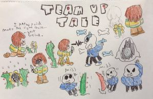 Team up tale by Anna-mator