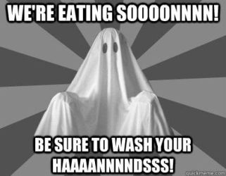 Nagging Roommate Ghost - Washing your Hands by PlayboyVampire
